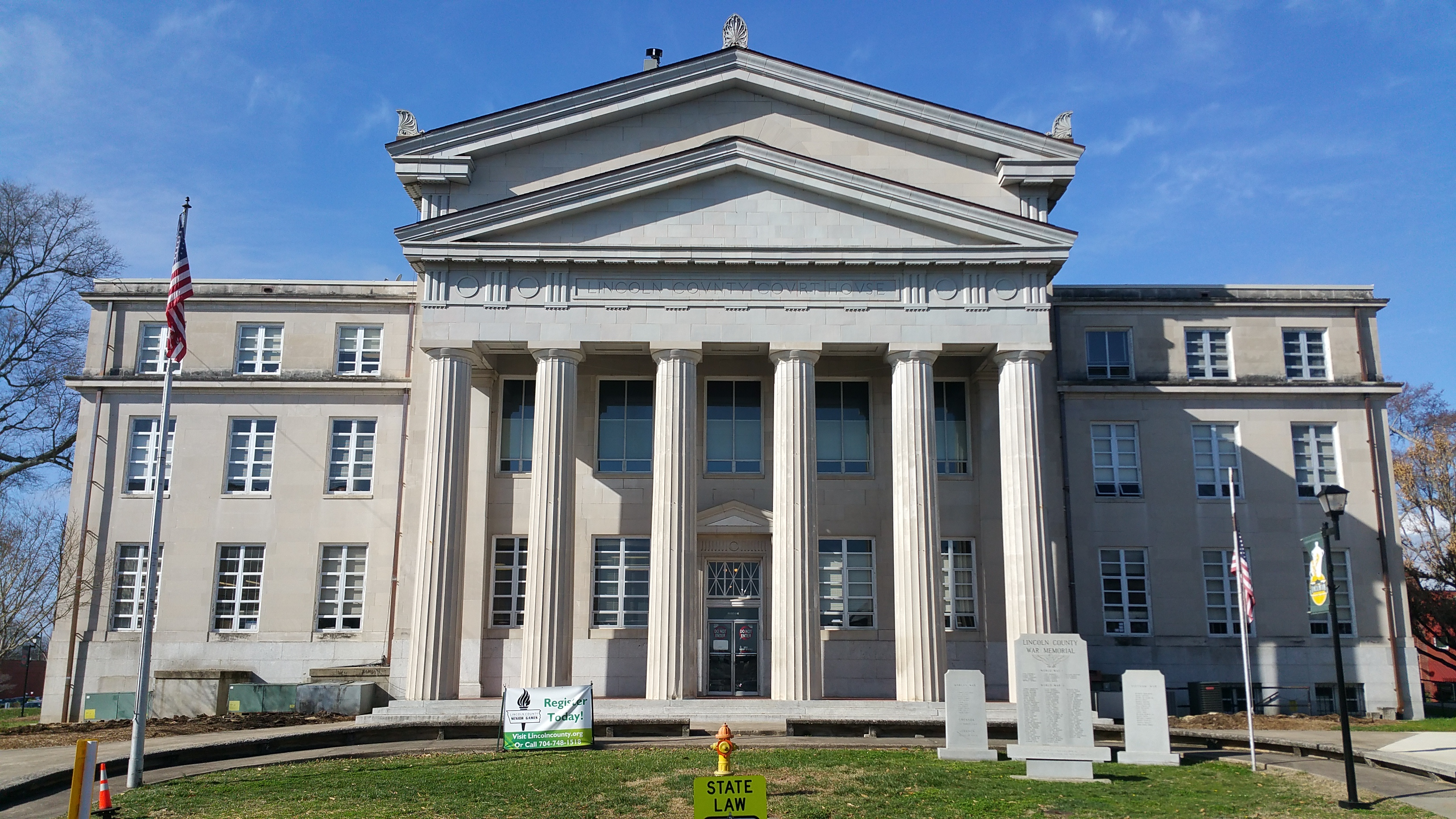 The Lincoln County Court House has remained an iconic symbol of downtown Lincolnton for nearly 100 years.