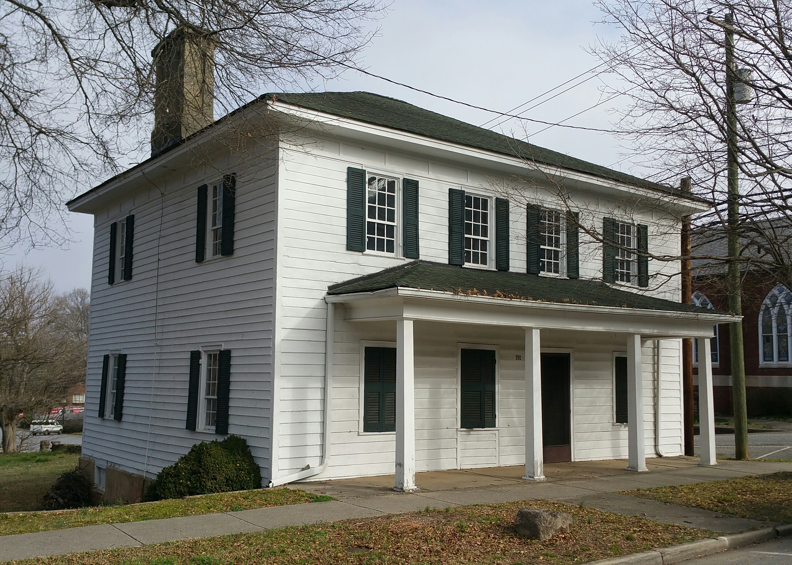 Documentation suggests that the Federal Style Michal-Butt-Brown-Pressly House could have been built as early as 1810.